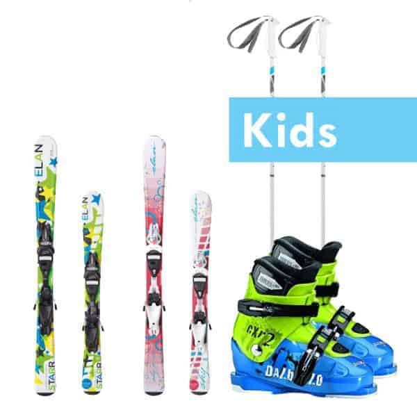 Kids Ski set complete