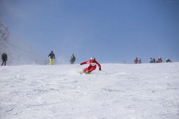 Danny in actie Snowsports Westendorf